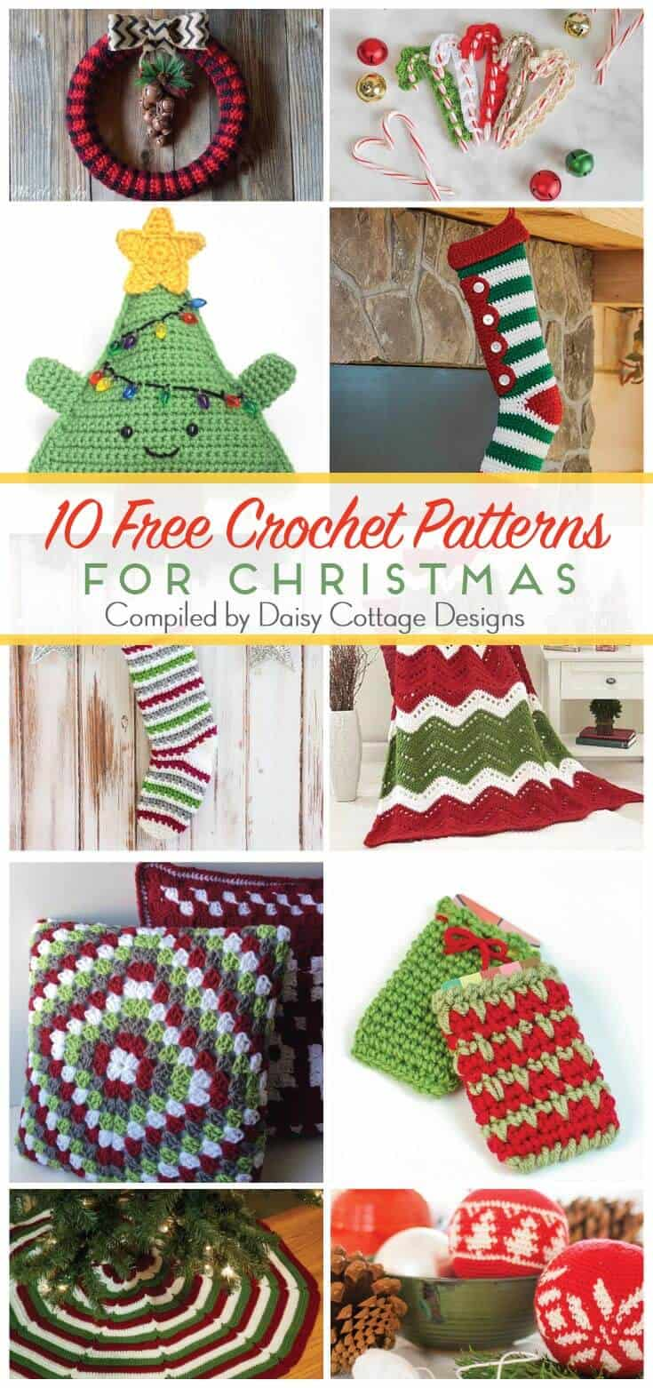Christmas Crochet Patterns - Daisy Cottage Designs