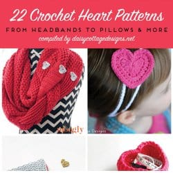 Crochet Heart Patterns for Valentine's Day