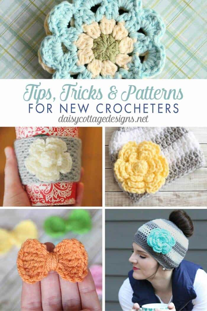 Easy Crochet Patterns Tips For New Crocheters Daisy Cottage Designs