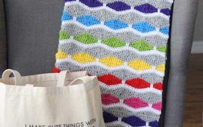Crochet Blanket Pattern: A Bright & Fun Free Crochet Pattern