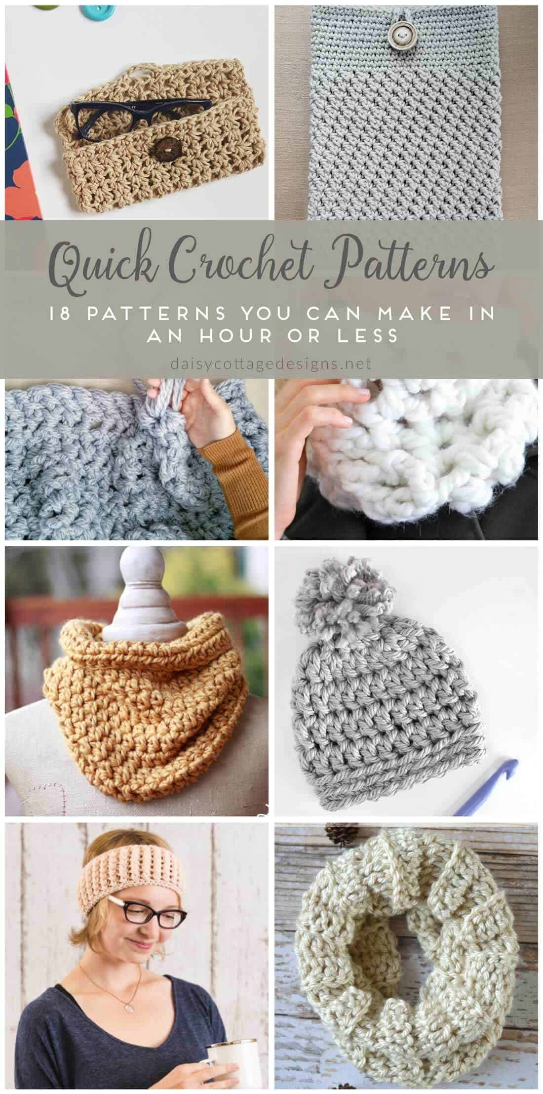 Easy Crochet Patterns - Free Crochet Patterns on Daisy ...
