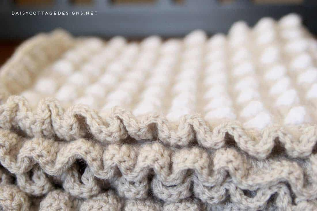 Crochet Baby Blanket Pattern From Daisy Cottage Designs