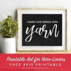 Yarn Meme Printable