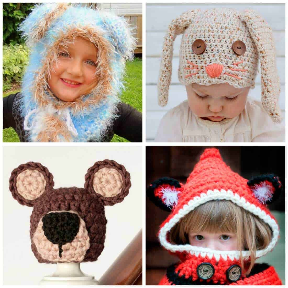 Crochet Hat Patterns for Kids - Daisy Cottage Designs f6d6c3bb79b