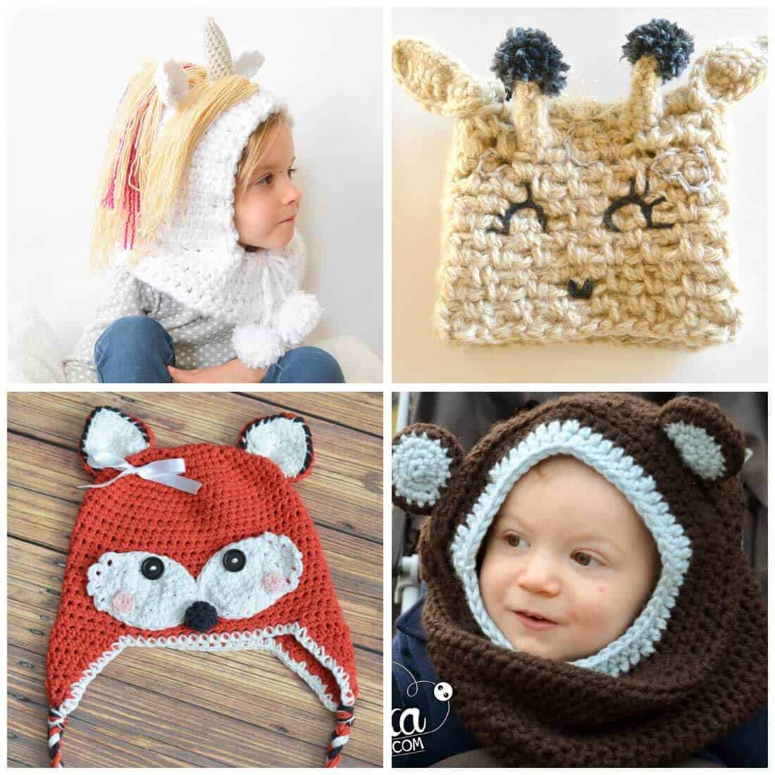 Crochet Hat Patterns For Kids Daisy Cottage Designs