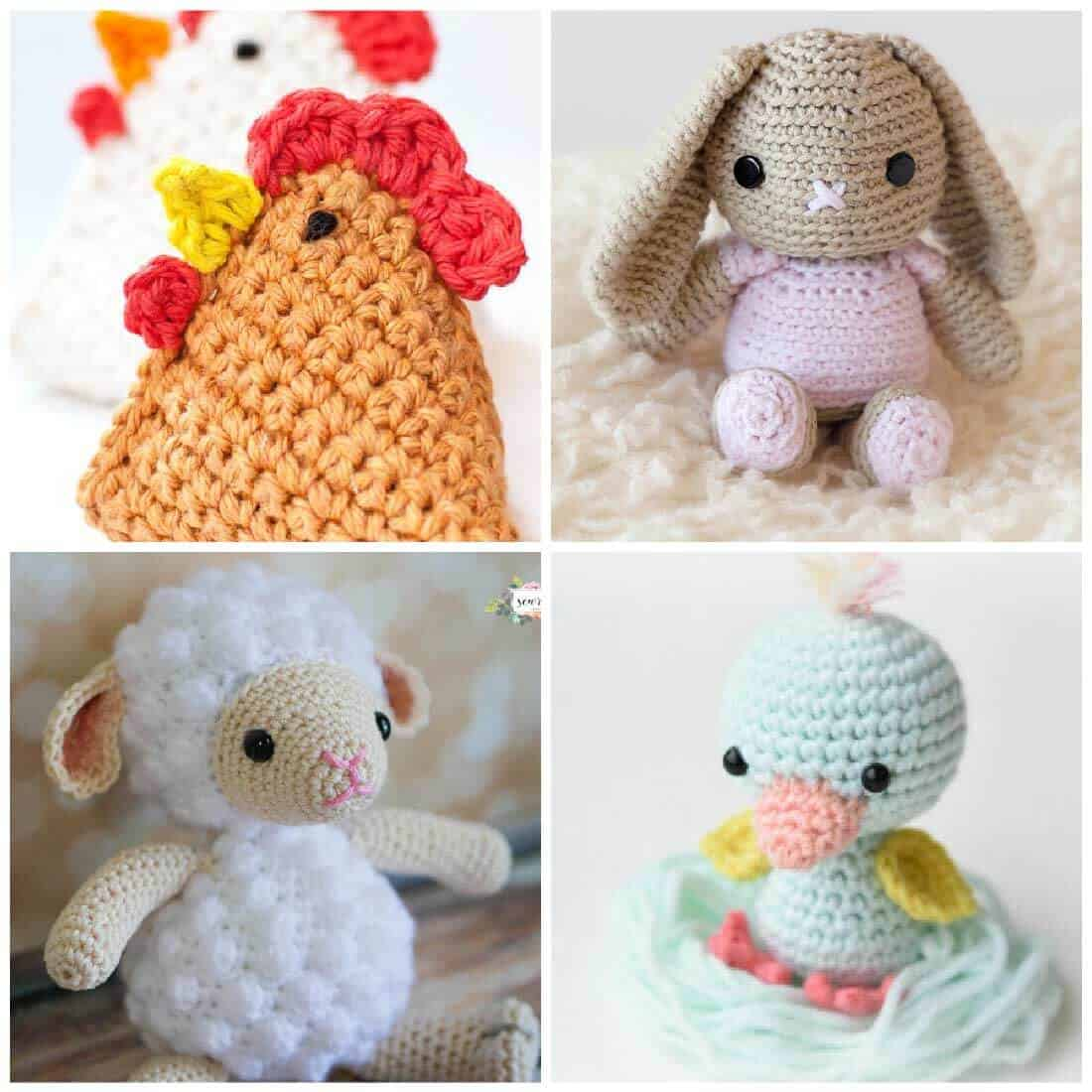 Free Crochet Patterns for Spring