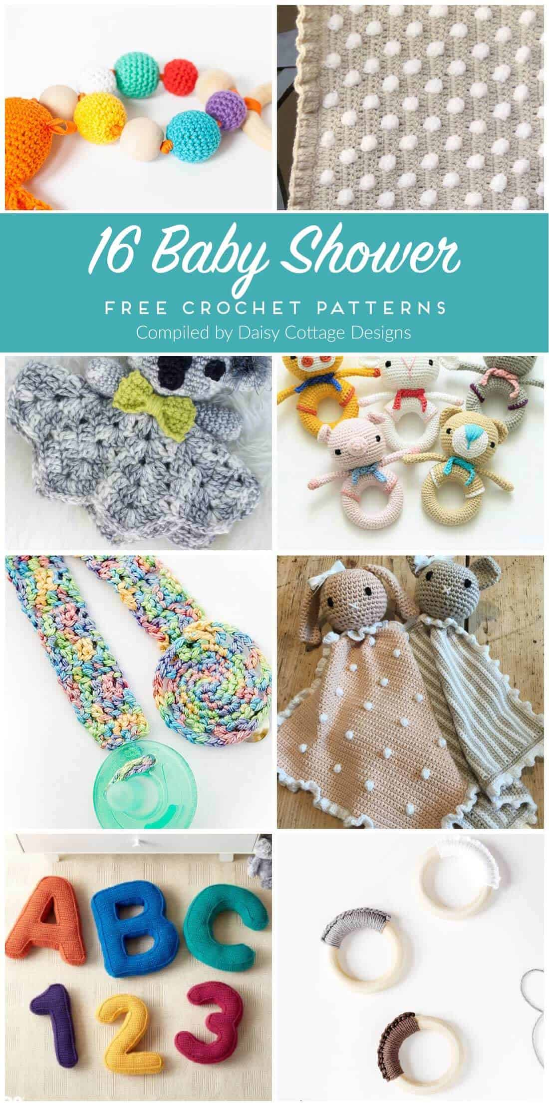 free crochet patterns | baby crochet patterns | crochet patterns for baby | Use one of these adorable crochet patterns to make something for that upcoming baby shower. These free patterns make adorable gifts that will be treasured for a lifetime.