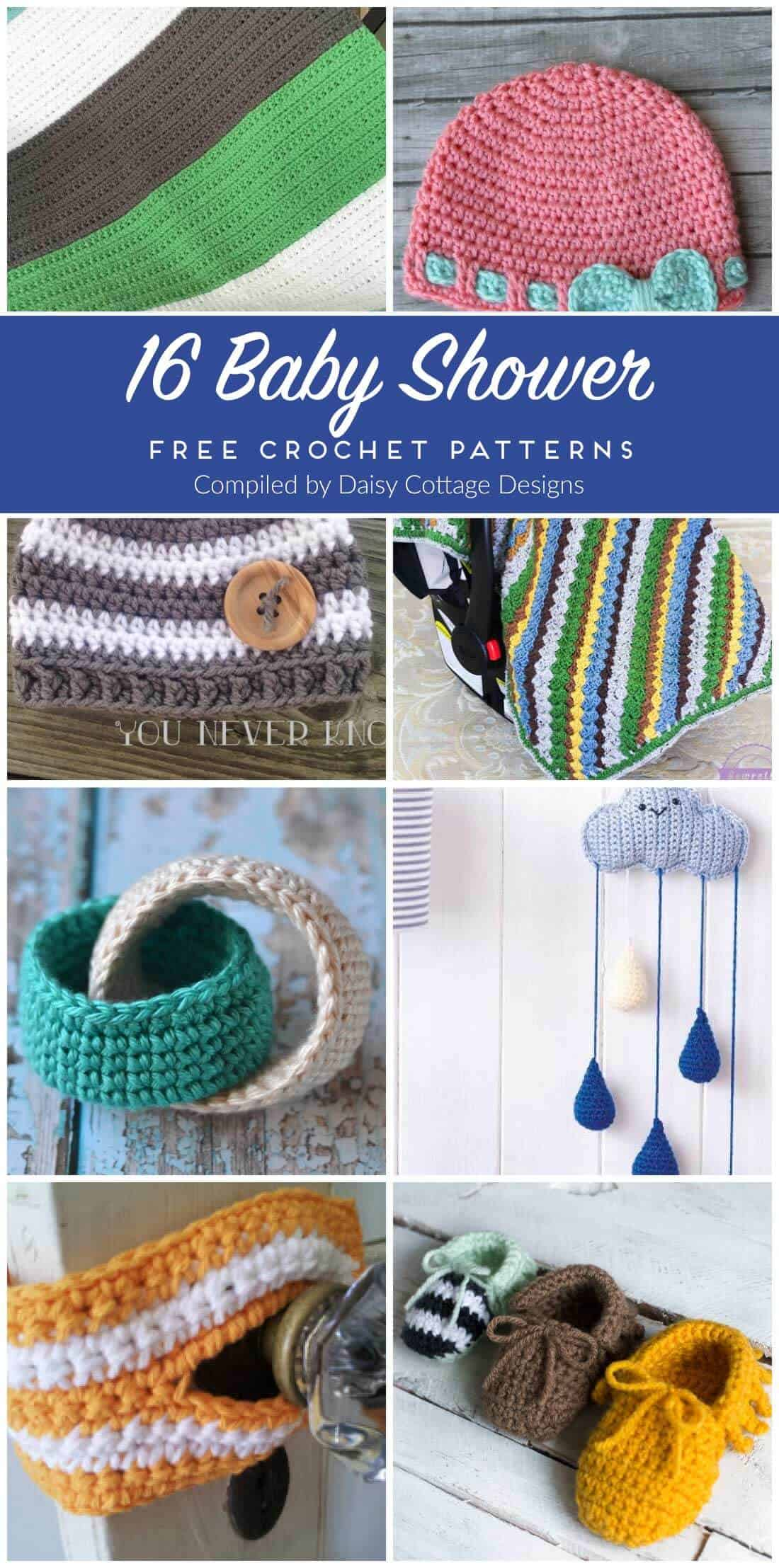 Free Crochet Patterns For Baby Daisy Cottage Designs