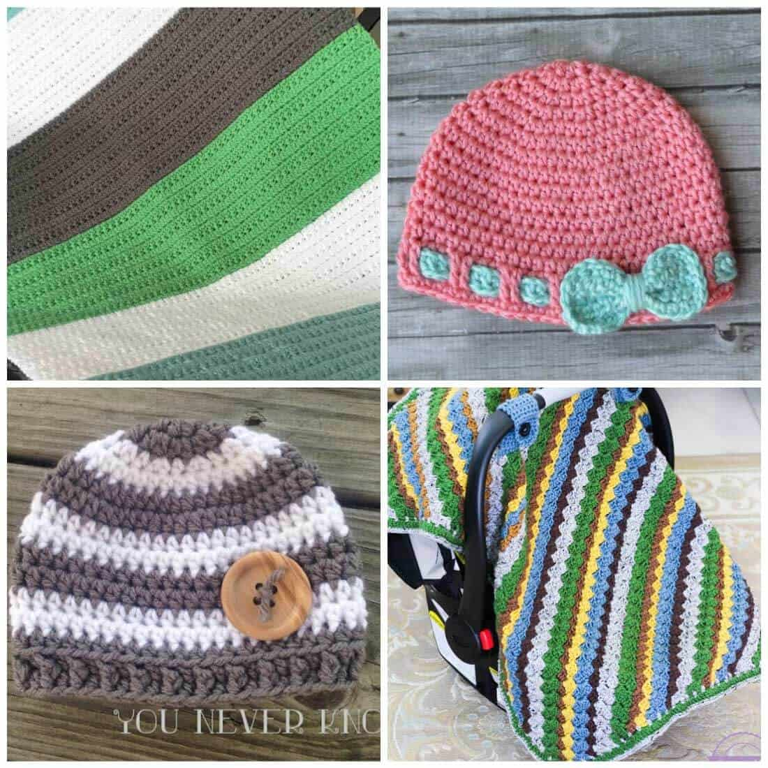 free crochet patterns   baby crochet patterns   crochet patterns for baby   Use one of these adorable crochet patterns to make something for that upcoming baby shower. These free patterns make adorable gifts that will be treasured for a lifetime.