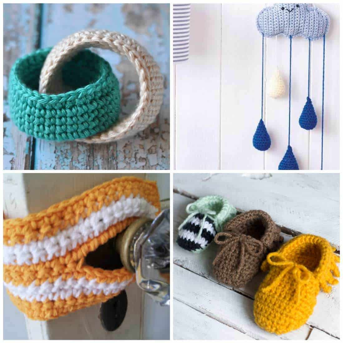 Free Crochet Patterns for Baby - Daisy Cottage Designs