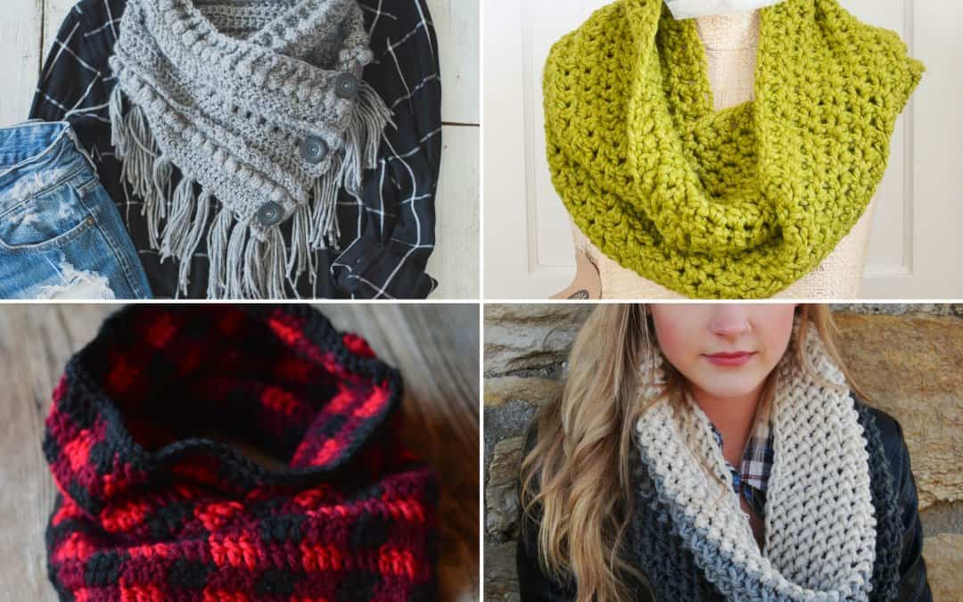 Free Cowl Crochet Patterns: 15 Beautiful Projects