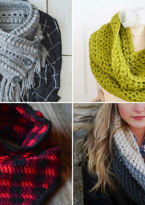 Free Cowl Crochet Patterns: 15 Beautiful Projects