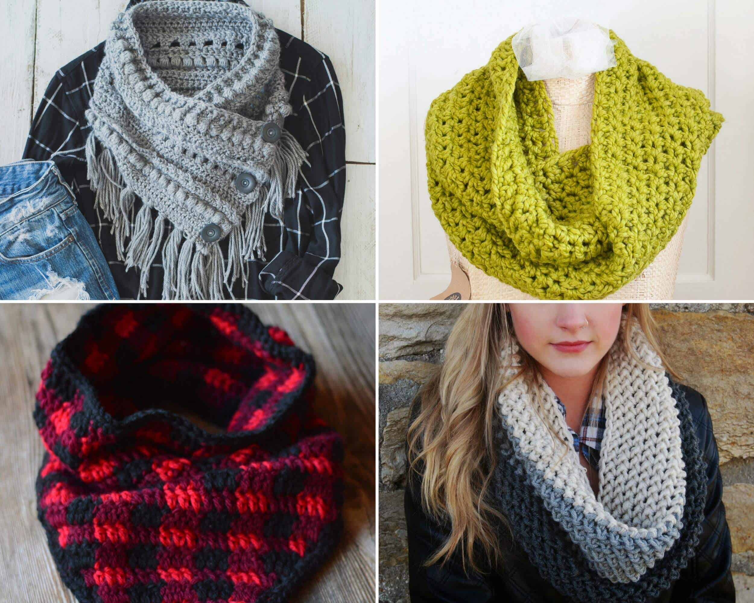 Free Cowl Crochet Patterns 15 Beautiful Projects Daisy