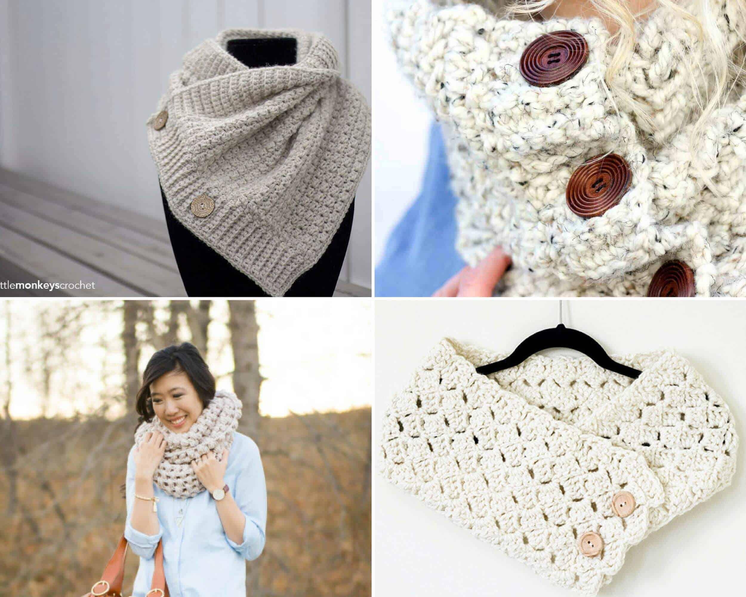 Free Cowl Crochet Patterns 15 Beautiful Projects Daisy Cottage