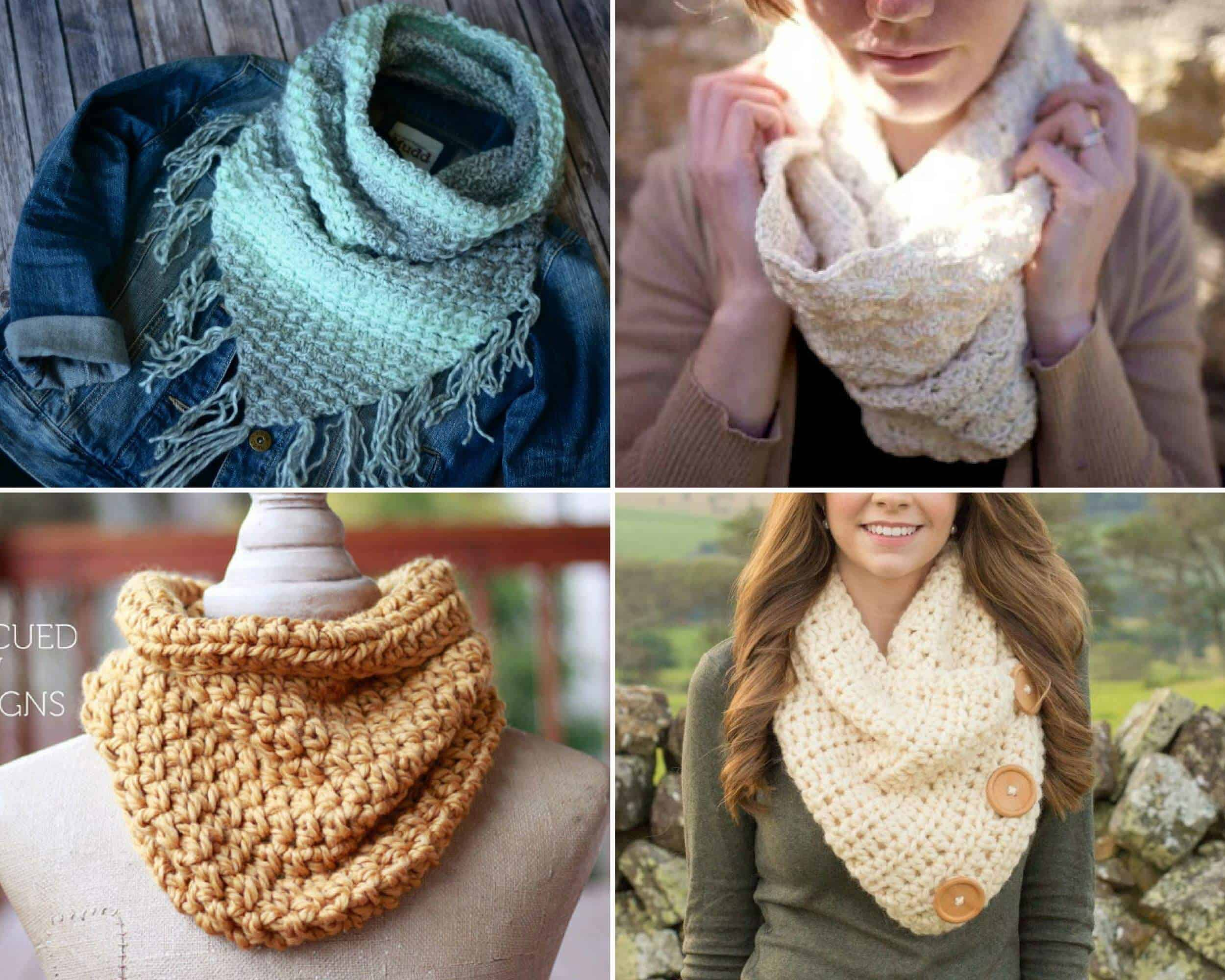 Free Cowl Crochet Patterns: 15 Beautiful Projects - Daisy Cottage ...