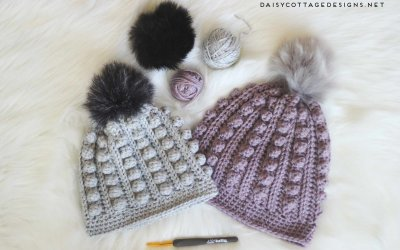 Bobble Beanie Crochet Pattern