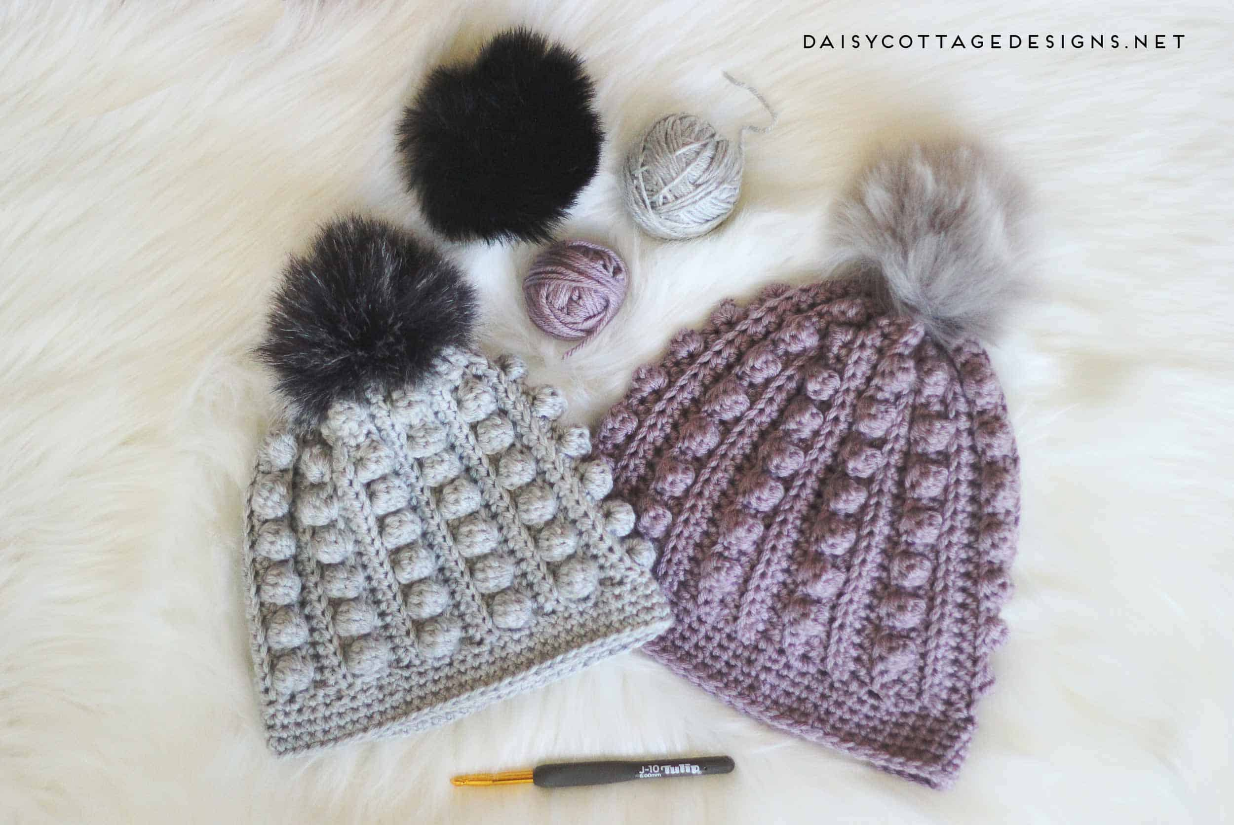 Bobble beanie crochet pattern daisy cottage designs use this free bobble beanie crochet pattern to create an adorable crochet hat for anyone on bankloansurffo Gallery