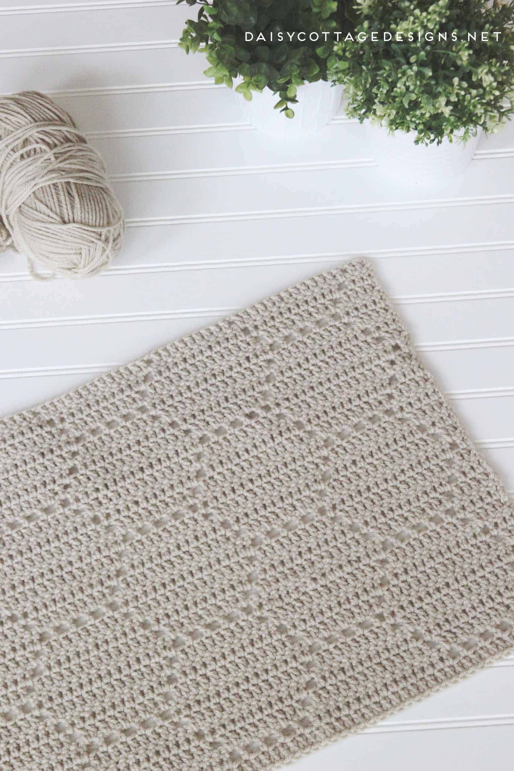 Honeycomb Crochet Blanket A Pattern Review Daisy Cottage Designs