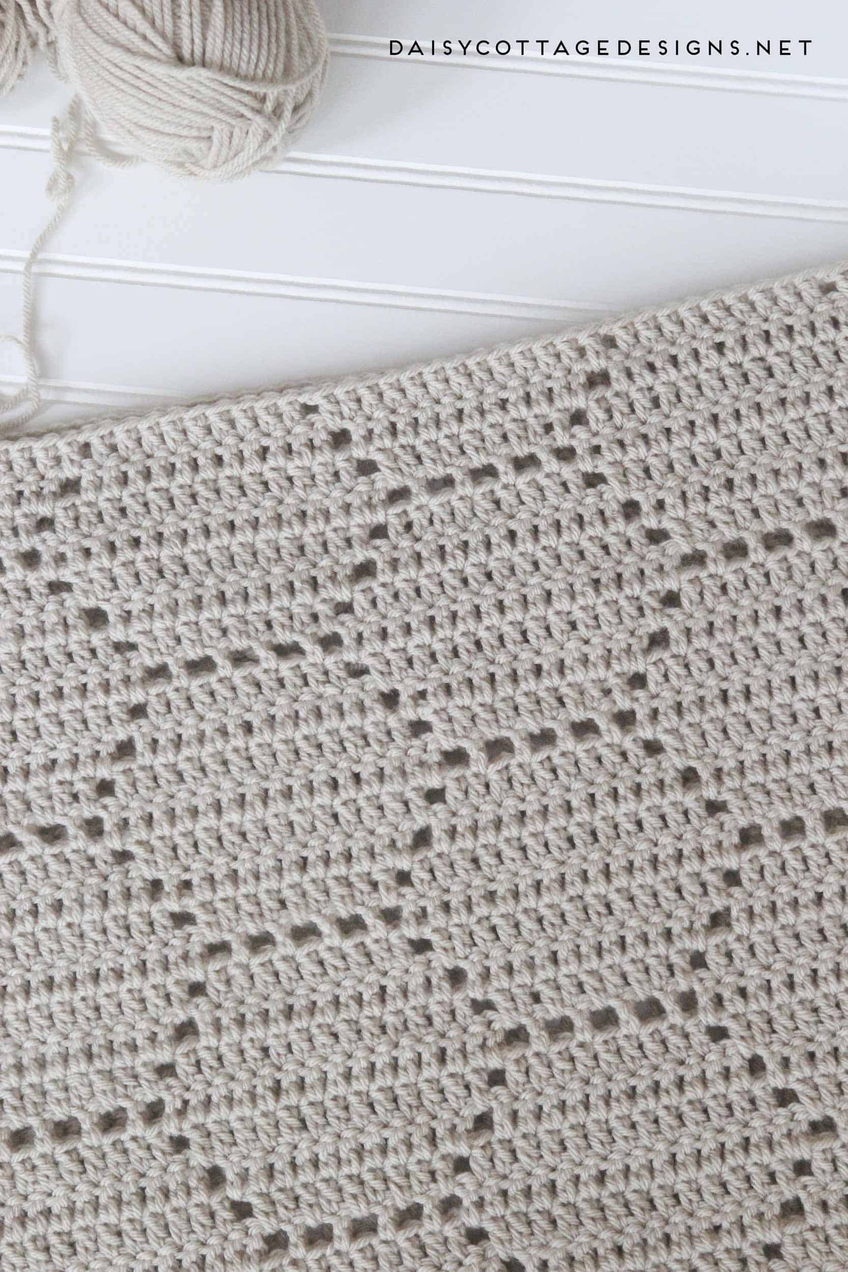 Honeycomb Crochet Blanket: A Pattern Review - Daisy Cottage