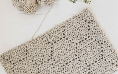 Honeycomb Crochet Blanket: A Pattern Review