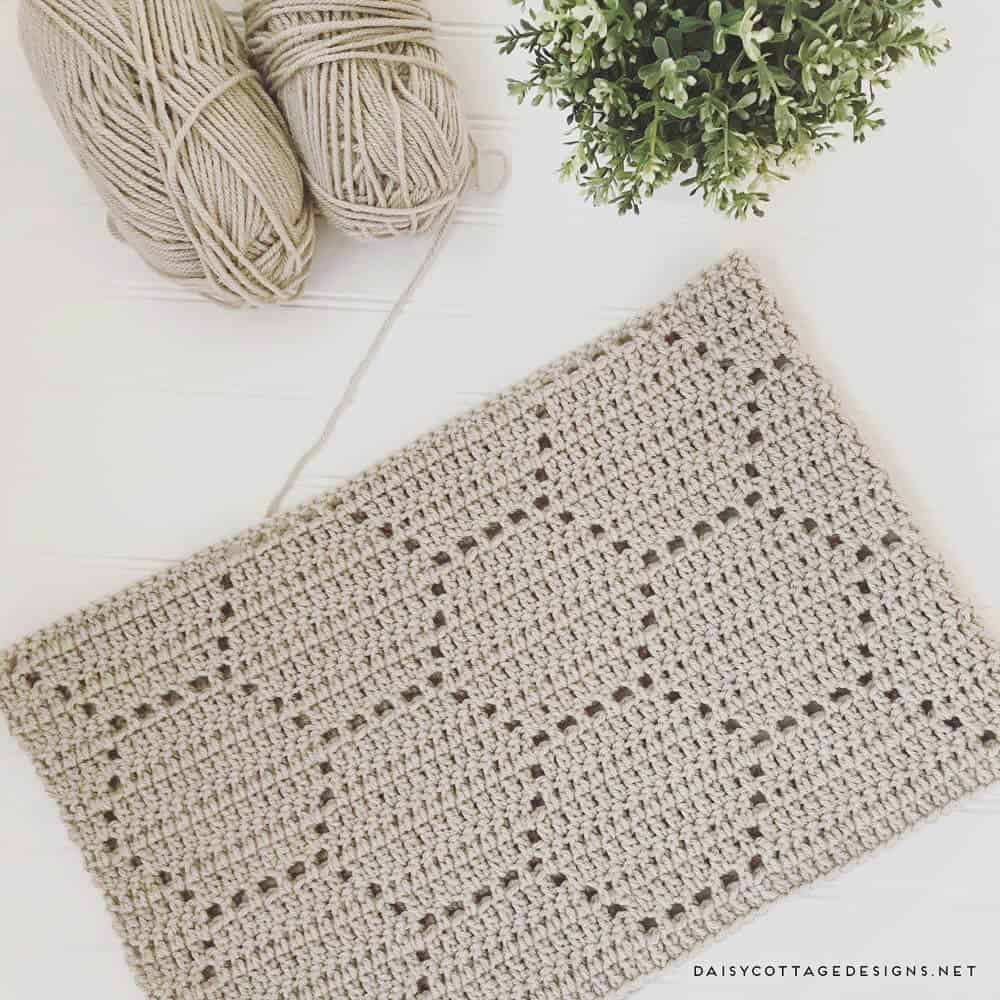 Honeycomb Crochet Blanket: A Pattern Review - Daisy Cottage Designs