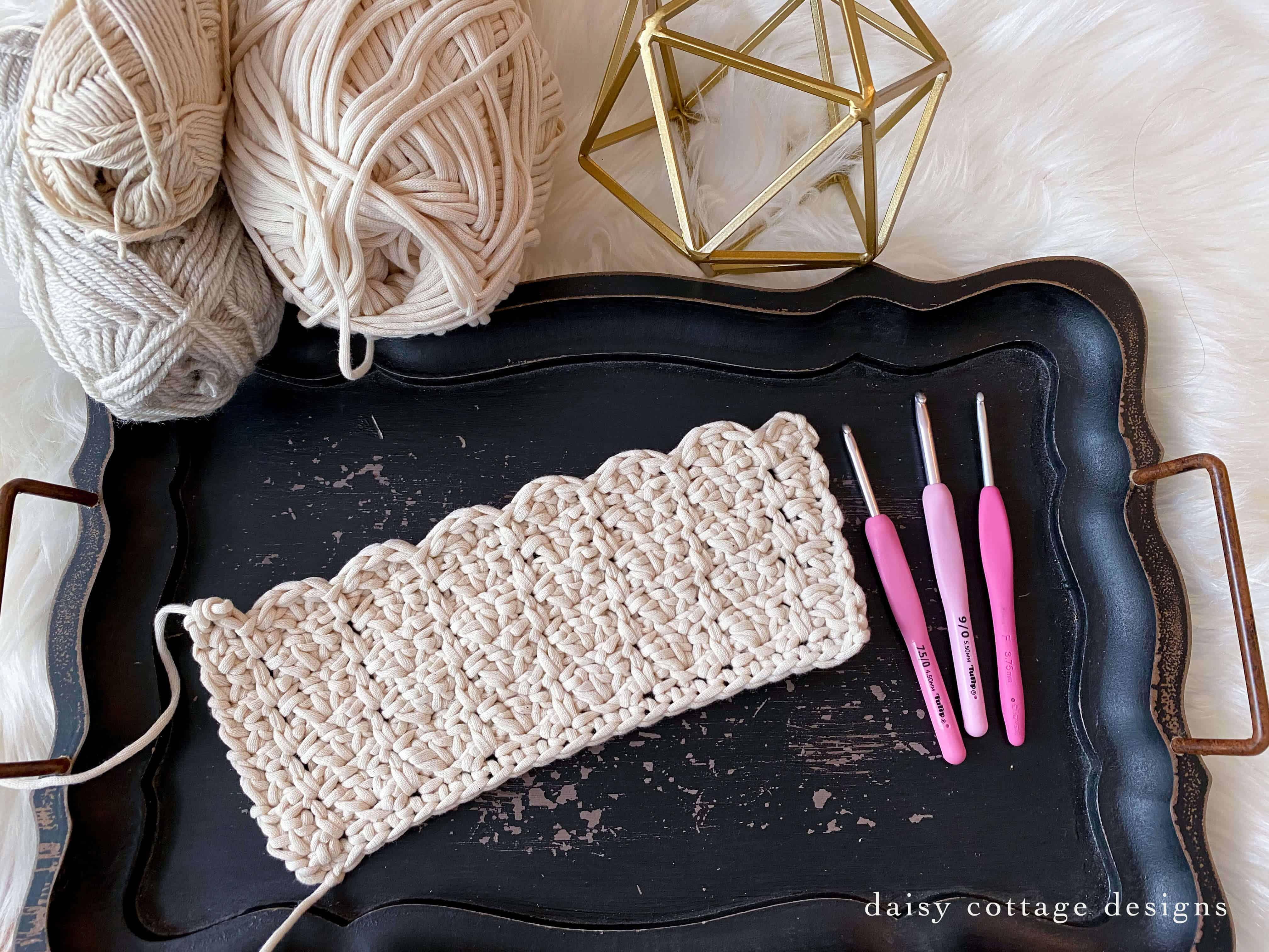 Scalloped Crochet Pattern