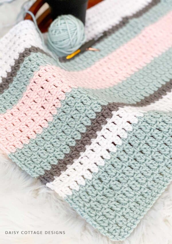 Double Crochet Cluster Stitch Tutorial