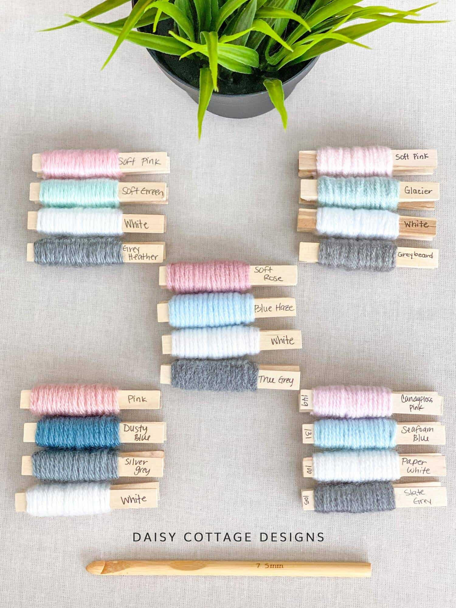 Crochet Color Palette to give you confidence in your next color selections!