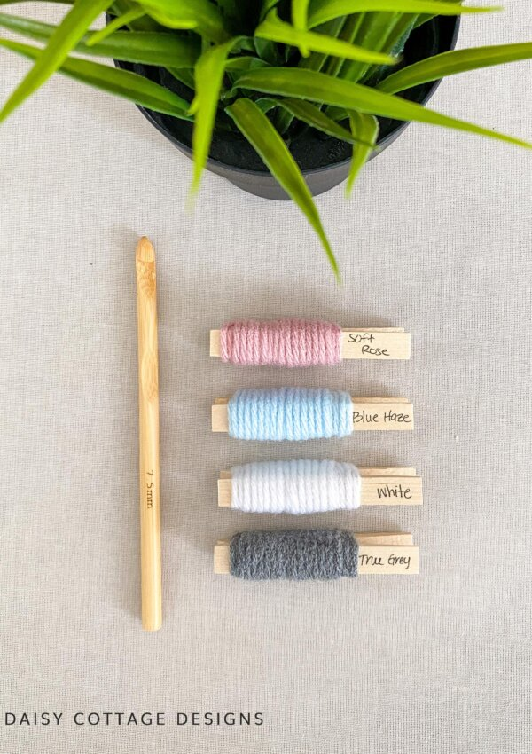 Colors for Crochet: Pinks, Blues, & Grays