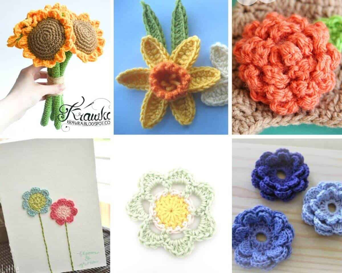 Various Flower Crochet Patterns