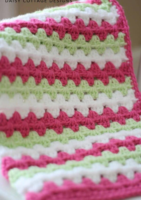 How to Make a Granny Stripe Crochet Pattern