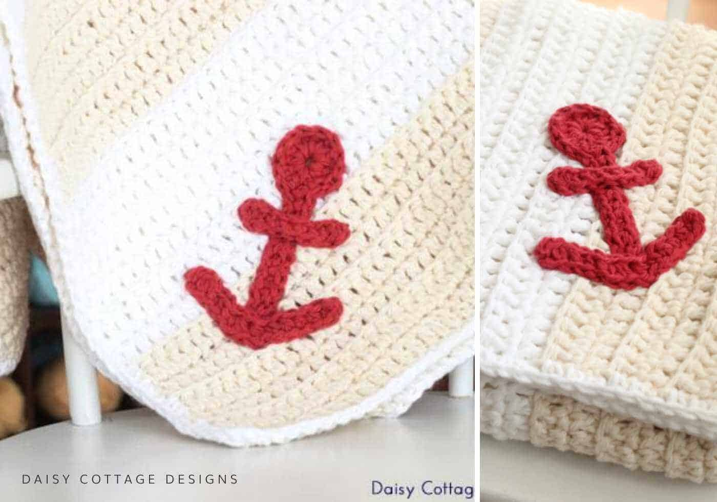 nautical baby blanket crochet pattern