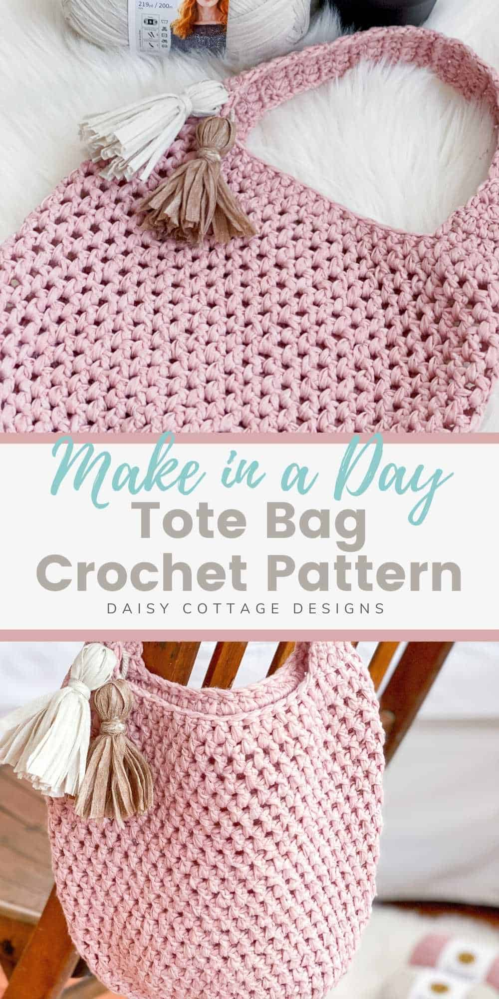 You're not going to want to miss this market tote crochet pattern. Use this free tote bag crochet pattern to create a gorgeous gift!